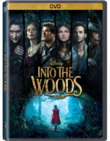 Into the Woods Disney Film DVD (Region 1)
